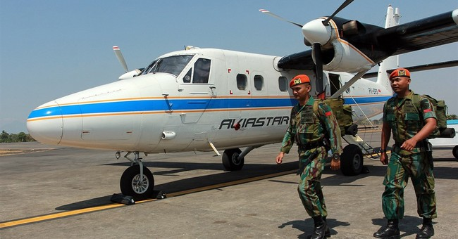 Search area expanded to locate missing Indonesian plane
