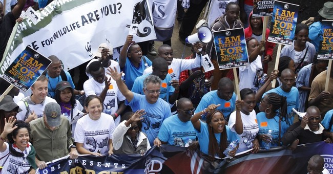 Conservationists rally in South Africa, other countries