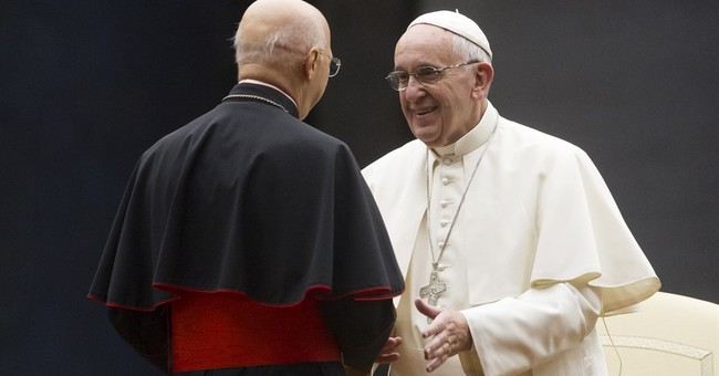 Pope asserts marriage is forever at start of family meeting