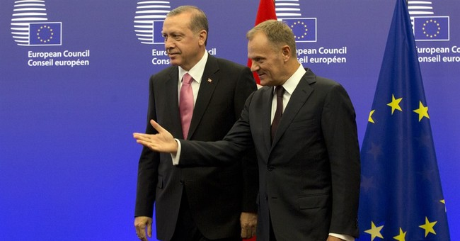 Turkey seeks EU backing for Syria no-fly, buffer zones