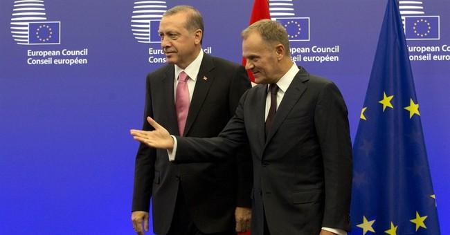 Turkey seeks EU backing for Syria no-fly, buffer zones