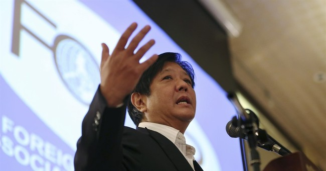 Late Philippine dictator's son to run for vice president
