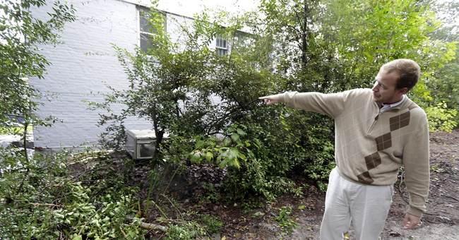 AP PHOTOS: Gills Creek gets one of rainiest days in years