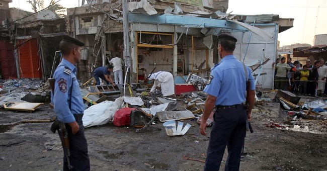 IS claims wave of attacks in Iraq that killed 56 people