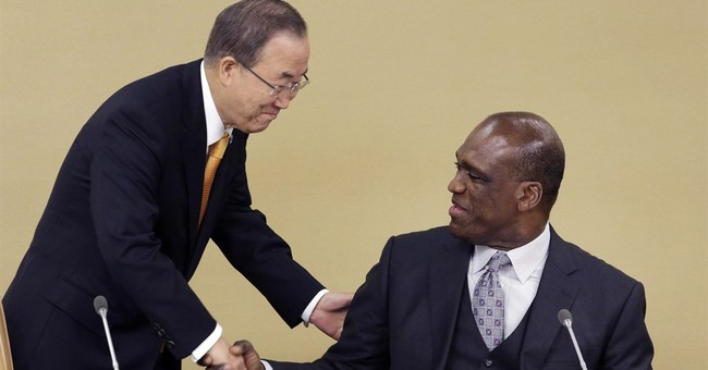 The Latest: Ex-UN General Assembly president gets $1M bail