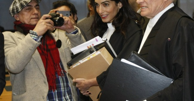 Amal Clooney on legal team in Armenian genocide case