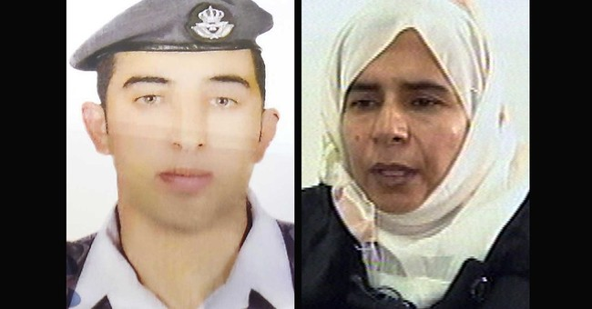 Islamic State standoff involves prisoner, pilot, journalist