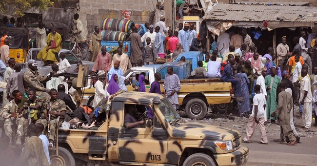 Extremists rampage in northeast Nigeria, no troops fighting