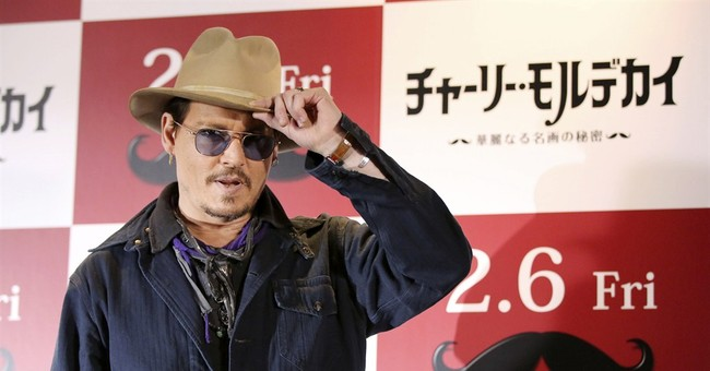 A chupacabra in Japan? Depp says it came from his suitcase