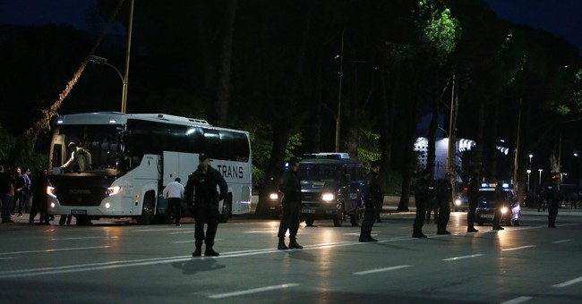 Albania fans arrested with weapons before Serbia match