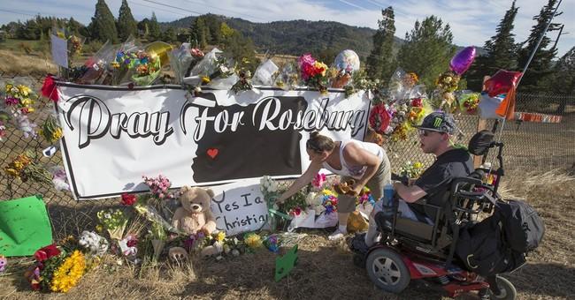 Oregon gunman killed himself after police shot him