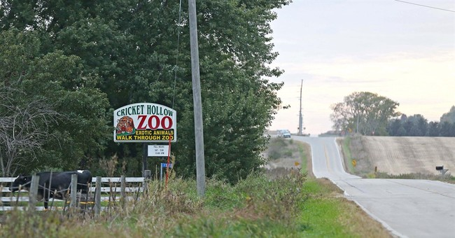 Lawsuit in Iowa challenges so-called 'roadside zoos'