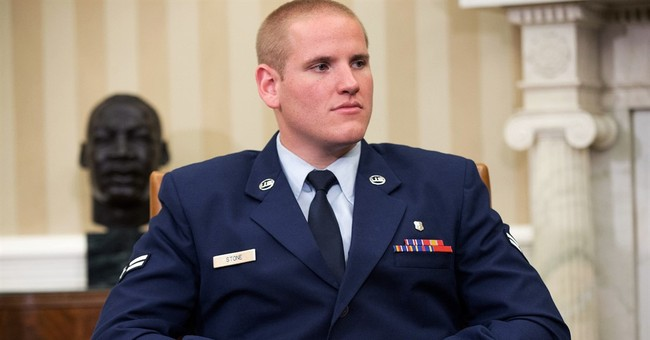 US airman who thwarted French train attack stabbed in brawl