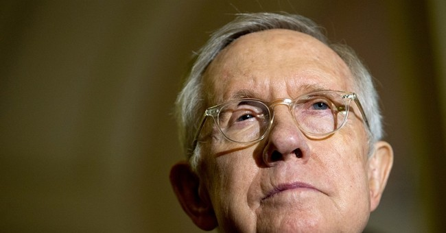 US Sen. Harry Reid suing exercise band maker over eye injury