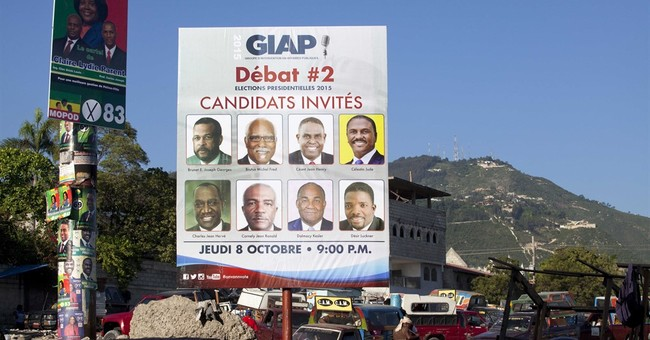 Haiti voters grapple with packed field for presidency