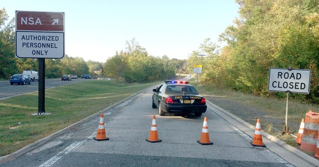 Base: Man who crashed car at Fort Meade hid in a storm drain