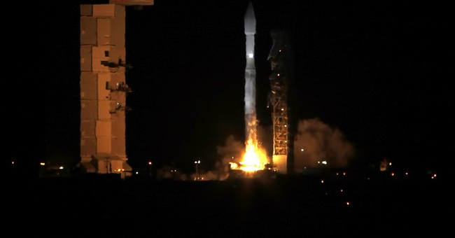 Rocket with secret payload launches from California coast