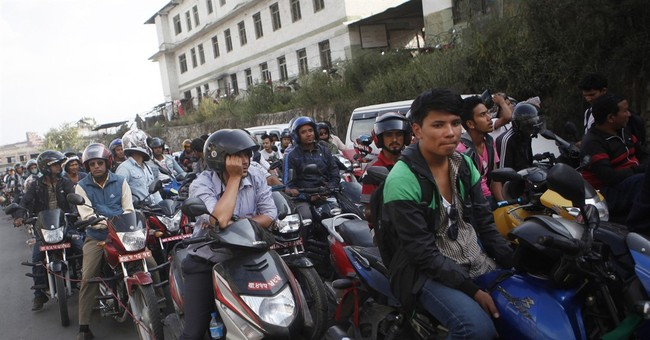 Oil-starved Nepal seeks suppliers to bring fuel by air