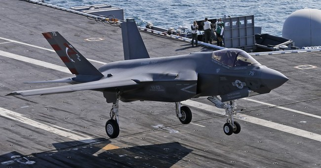 AP PHOTOS: Navy tests new fighter jet off Virginia's coast