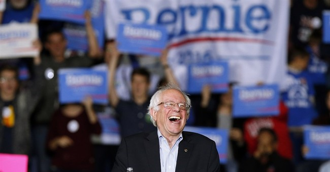 Sanders not overloaded with prep for 1st Democratic debate