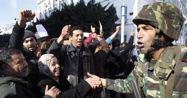 GLANCE: Tunisia, Nobel winner, shines as Arab Spring success
