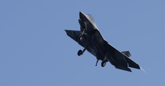 AP PHOTOS: Navy tests new fighter jet off Virginia's coast