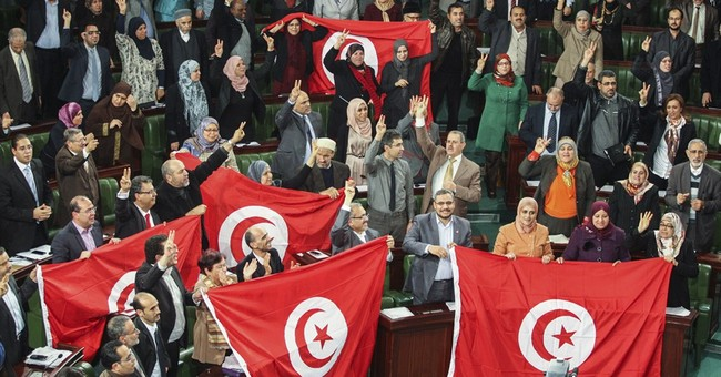 The Latest: Former Tunisian leader says dialogue was key