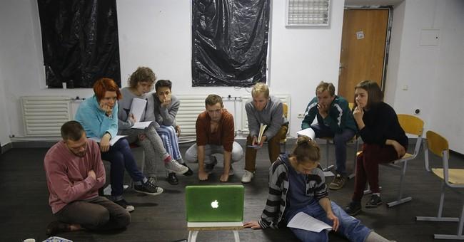In Belarus, opposition artists express dissent underground