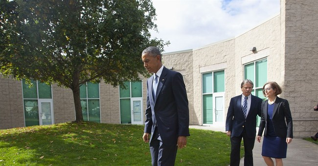 Obama says 'it's about the families' after Oregon meeting