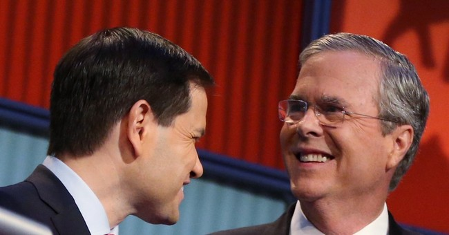 Can Rubio's lean campaign keep up with Bush's behemoth?
