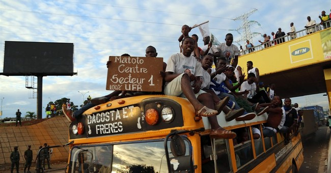 Pre-election violence in Guinea kills 3, injures 50