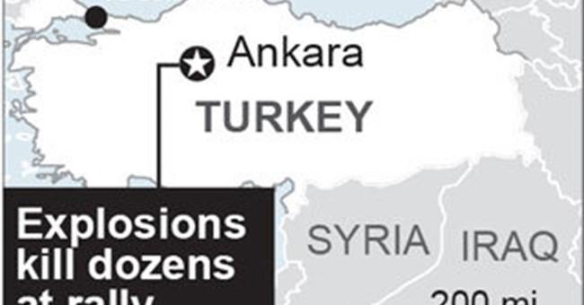 Turkey imposes news blackout on 'gruesome' blast images