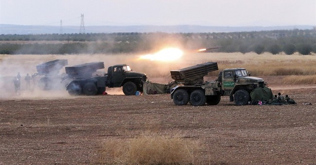 Fierce battles in central Syria amid Russian airstrikes