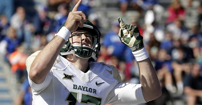 Sic'em: Baylor reaches No. 2 in AP Top 25 behind Ohio State