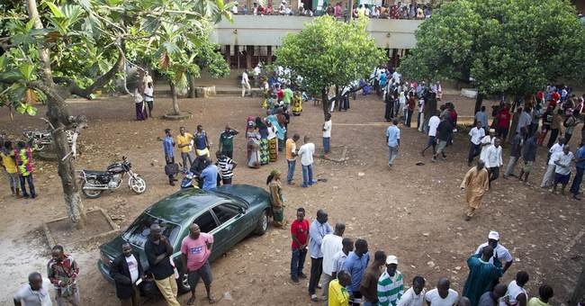 Millions of Guineans vote for president