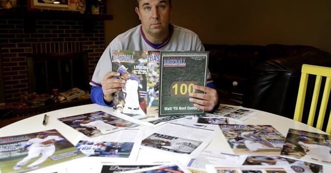 Baseball magazine vendor takes on Cubs, city