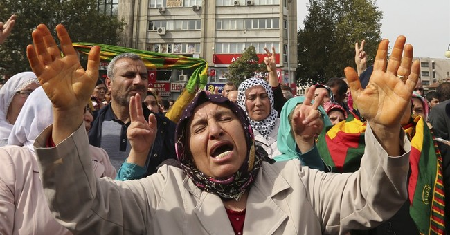 Islamic State could gain from Turkish peace rally bombing