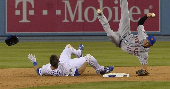 Dodgers' Utley suspended 2 playoff games for 'illegal' slide