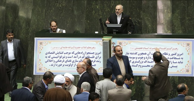 Iran's parliament approves outline of bill on nuclear deal