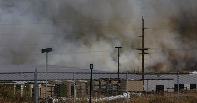 Dry autumn delivers fire and destruction to prairie states