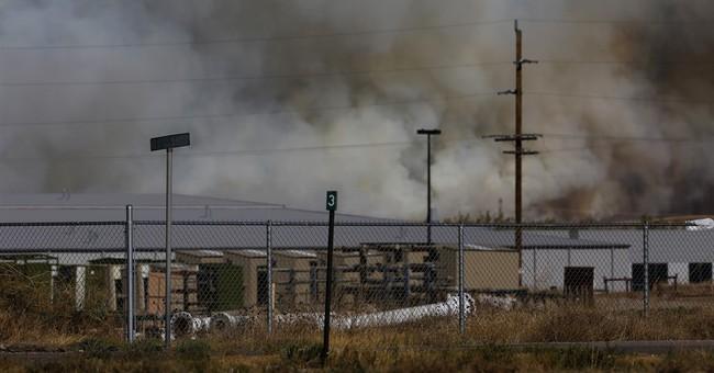 Wildfire near Casper forces evacuations, destroys buildings