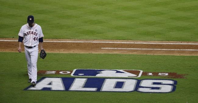 Jinx? Texas governor congratulates Astros before collapse
