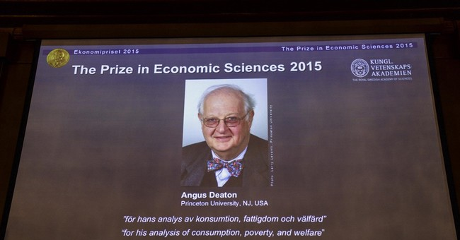 The Latest: Deaton wasn't sure he would be picked for Nobel