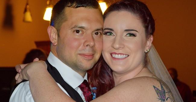 Paramedic in wedding dress works crash on way to reception
