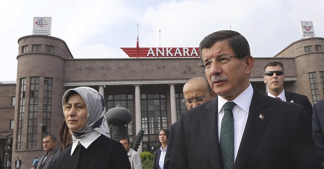 Turkish PM: Suicide bombers 'originated' from Syria