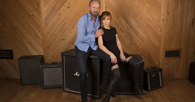 Sting, Mylene Farmer play lovers in 'hot' new music video