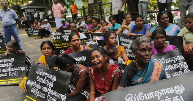 Sri Lankan activists demand release of Tamil detainees