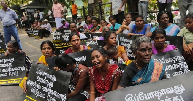Sri Lankan activists demand release of Tamil detainees