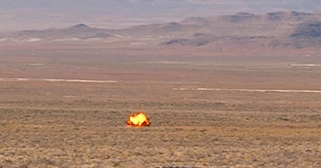 Military blows up World War II-era bomb found in Utah desert