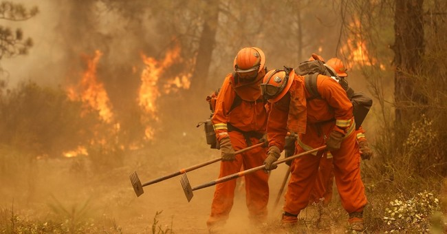 California now says violent inmates have long fought fires